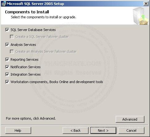 SQL Server 2005 Installation