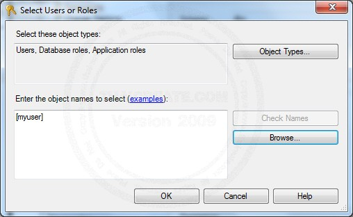 SQL Server Create Login and Create User