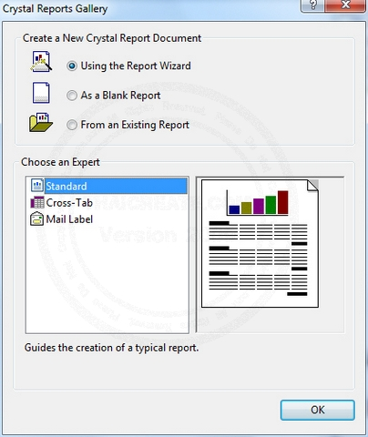 Crystal Report กับ DataSet หรือ DataTable