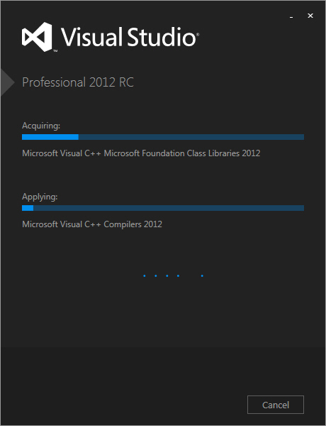 Visual Studio 2012 and .NET Framework 4.5