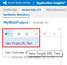 Application Insights Visual Studio Online