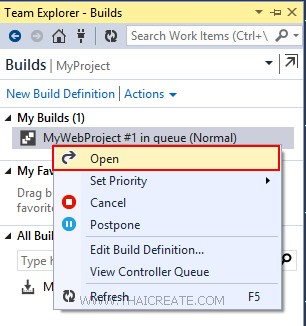 Visual Studio Online Hosted Build Service