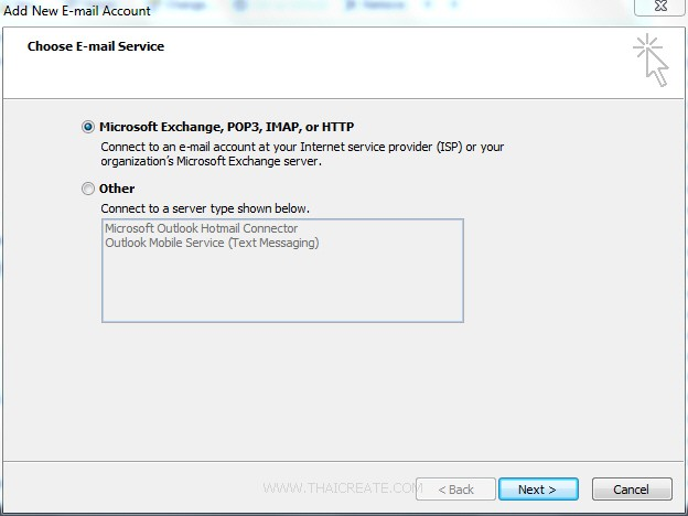 Direct Admin Email Account SMTP Outlook