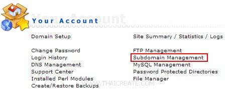 Direct Admin Subdomain / Sub Domain