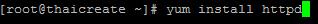 Linux  Apache (httpd) Web Server