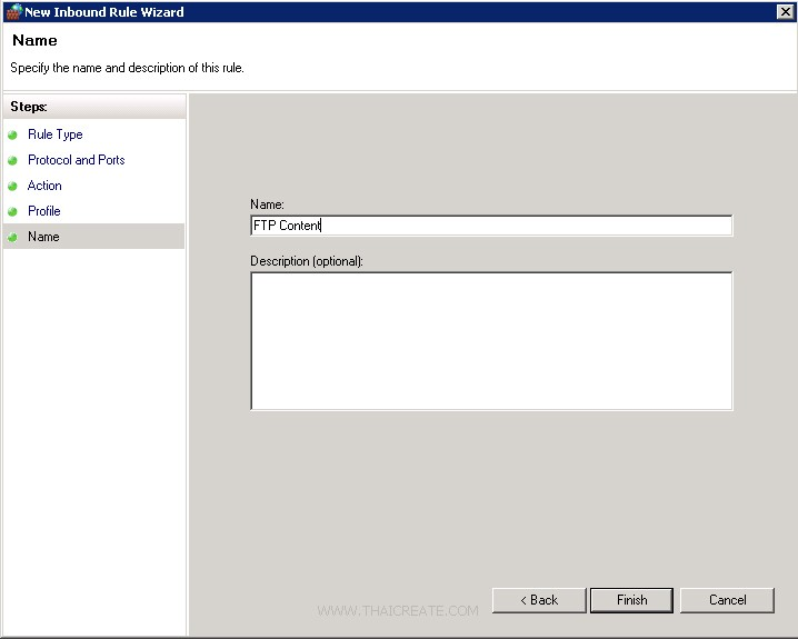 Windows Server 2008 FTP Account and Upload