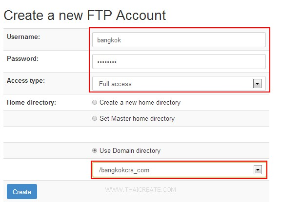 Zpanel Upload FTP Account