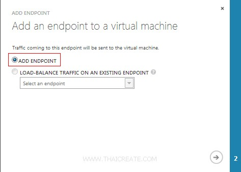 Windows Azure VM Linux ConfigEndpoint
