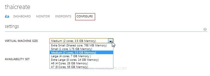 Windows Azure VM Windows Server Scale , Monitor