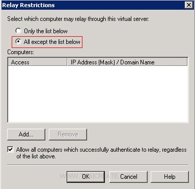Windows Azure VM Windows Server SMTP Mail