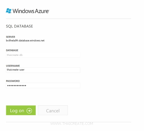 Windows Azure and SQL Azure / SQL Database