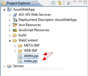 How to use Java (JSP) Delete Blob
