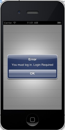 Authentication  Azure Mobile Services iOS iPhone