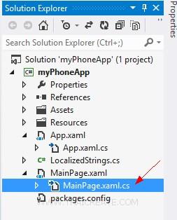 CreateWindows Phone(WP) Mobile Services Visual Studio