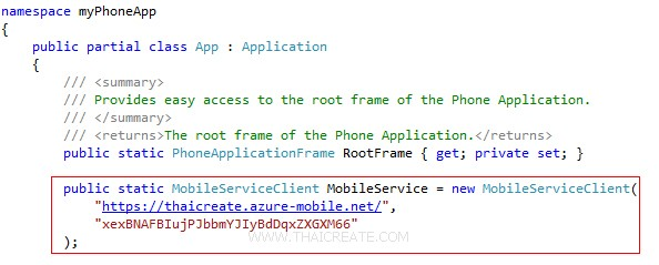 Scripts to authorize users in Mobile Services Windows Phone