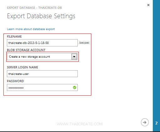 Backup Import Restore SQL Azure / SQL Database