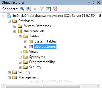 SQL Azure .NET Application