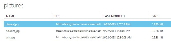 Blob Storage และ Azure PHP SDK
