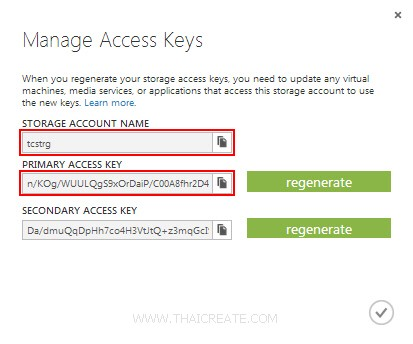 Table Storage Service และ Azure PHP SDK