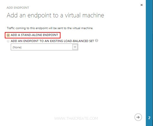 Windows Azure Virtual Machine (VM) Load Balance