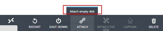 Attach Disk Windows OS Virtual Machine
