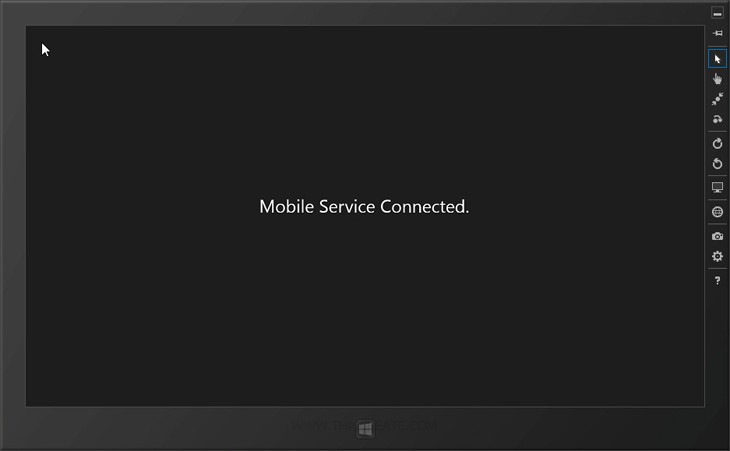 Windows Store App Azure Mobile Services