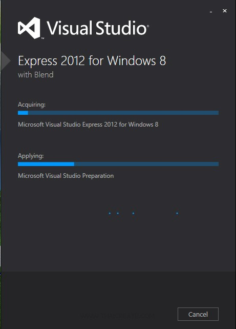 Visual Studio Express 2012 for Windows 8