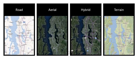 Windows Phone and Bing Map ZoomLevel , Cartographic Mode