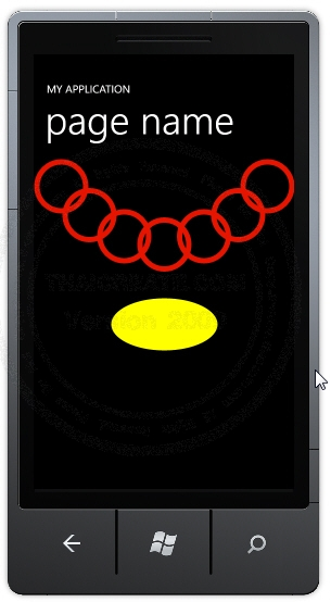 Ellipse - Windows Phone Controls