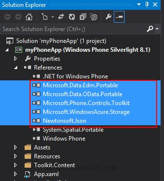 Windows Phone 8 and Windows Azure Storage