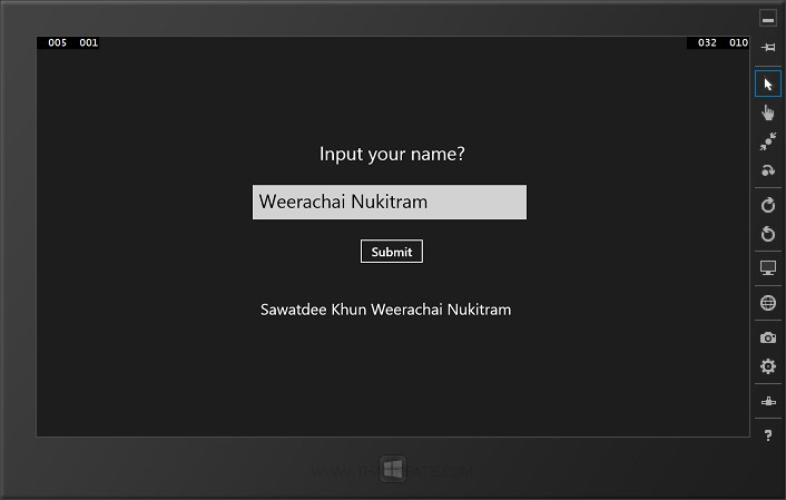 Windows Store Apps Event Handler