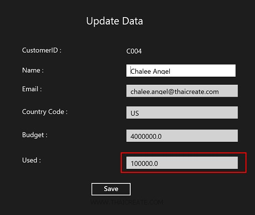 Windows Store App and Update Data (Web Services) - C#