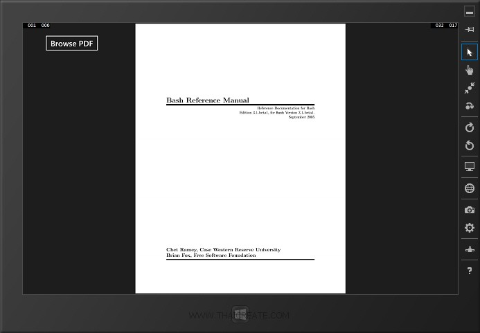 Windows Store App and PDF Viewer (C#)