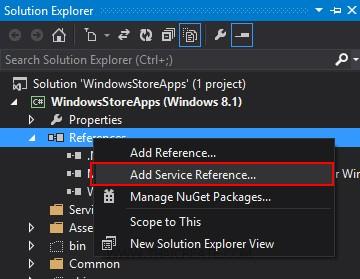 Windows Store Apps and SQL Azure Database (C# , Windows Azure)