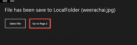 Windows Store Apps File Dialog Save