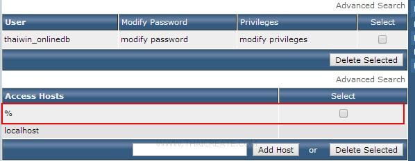 Windows Store Apps MySQL Host Server