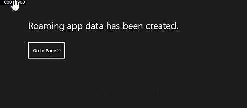 Windows Store Apps Roaming app data