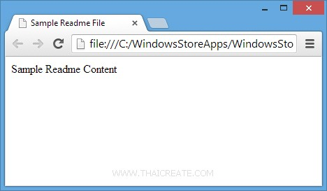 Windows Store Apps WebView