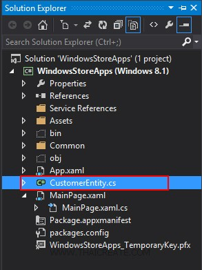 Windows Store Apps and Windows Azure Table Storage (C#)