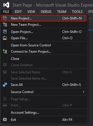 Visual Studio 2013 Express